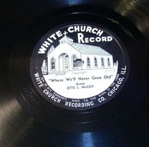 White Church Record # 1117 AA-191720J Vintage Collectible image 1