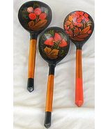 3  decorative wood spoons - $15.00