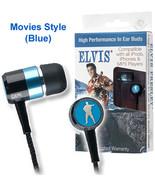 High Performance Elvis Ear Buds ( Blue Movies ) - $11.99