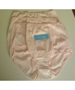3 Dixie Belle by Velrose Full cut Briefs Style 719  Size 13 Pink - $19.75