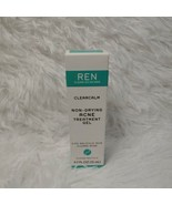 REN Clearcalm Non-Drying Acne Treatment Gel 0.5oz EXP 5/21 NEW IN BOX - $16.83