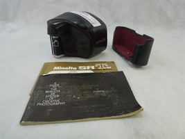 MINOLTA SRT-101 35mm film Camera w/ MINOLTA MC-ROKKOR PF 55mm f/1.7 **AS... - $49.45