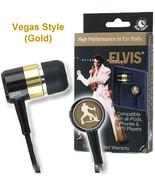 High Performance Elvis Ear Buds ( Gold Vegas Years ) - $11.99