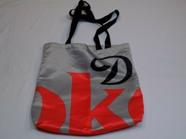 Diet Coke Coca Cola Carrying Tote Shopping Bag Grey Gray Red Black Logo ... - $14.99