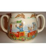 Vintage Bunnykins Two-Handled Mug by Royal Doulton - $26.00