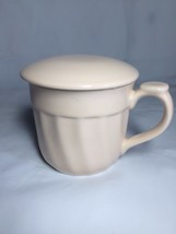 GANZ 2 pc. Ivory Coffee Tea Cup Mug With Lid - $14.95