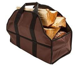SC Lifestyle Premium Firewood Log Carrier - Wood Tote Dark Brown - $22.00