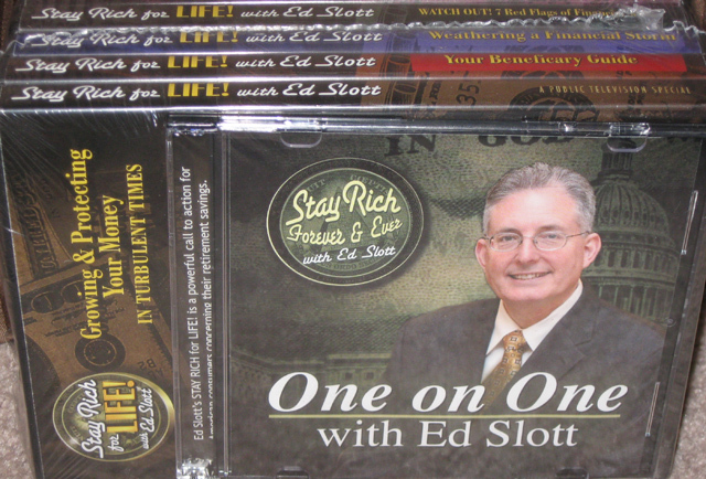 Stay Rich For Life By Ed Slot New Out Of The Box In sealed s