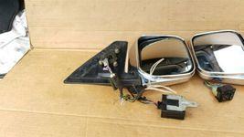 97-02 Mitsubishi Montero Pajero Sport JDM Chrome Heated Power Fold Mirrors L&R image 8