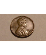 1941 - S Copper Lincoln Wheat Cent (VF) Large MM Variety - £0.61 GBP