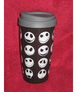 DISNEY STORE Nightmare before Christmas JACK Travel Tumbler Coffee Cup / Mug - $19.99