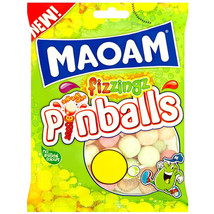 MAOAM Pinballs Fizzings SOUR 160g  -Made in England - $6.68