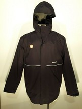 Timberland PRO Fit-To-Be-Dried Waterproof Jacket Black Mens Large - $98.99