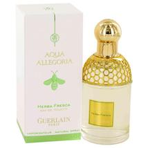 AQUA ALLEGORIA HERBA FRESCA by Guerlain Eau De Toilette Spray 2.5 oz Great price - $47.60