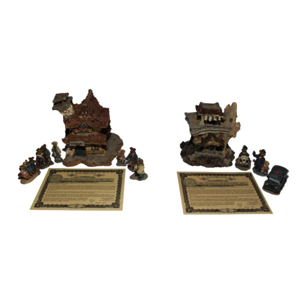 Boyds Bearly Built Villages Collection Bearly Well Clinic 19008 - $79.97