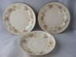Vintage Homer Laughlin Eggshell Nautilus 2 Bread Plates 1 Saucer 5 5/8 Nice - $19.95