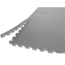 CAP Barbell Exercise Workout 0.75-inch Antimicrobial Puzzle Floor Mat, 2... - $755,07 MXN