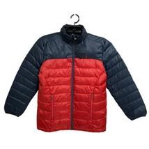 POLO Ralph Lauren boys puffer jacket zippered red blue size L (14-16) - $39.49