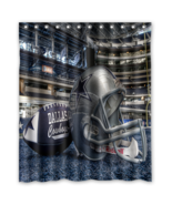 Dallas Cowboys 11 Shower Curtain Waterproof Polyester Fabric For Bathroom  - $33.30+