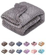 Fuzzy Dog Blanket or Cat Blanket or Pet Blanket, Warm and Soft, Plush Fl... - $14.35
