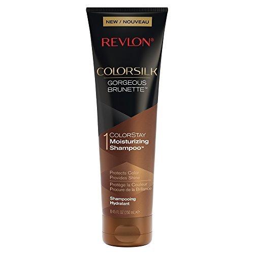 Revlon ColorSilk Care Shampoo, Brown, 8.45 Fluid Ounce - $8.50