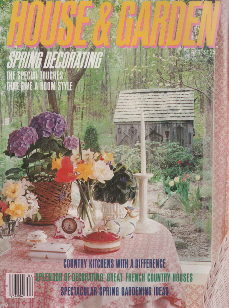 Primary image for House & Garden Magazine April 1981 Incorporating Living for Young Home Makers