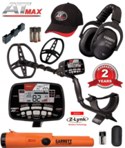 Garrett AT Max Metal Detector with Pro Pointer AT and Free Accessory Bundle - $16.199,77 MXN