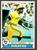 1979 TOPPS BASEBALL #55 WILLIE STARGELL (HOF) CARD-PITTSBURGH PIRATES - $3.91