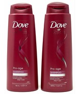 (2 Pack) Dove Nutritive Solutions Pro-Age Shampoo For Brittle Hair 13.52 Oz - $21.77