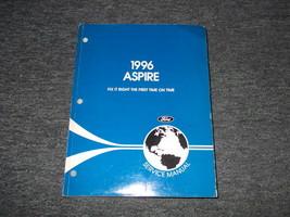 1996 Ford Aspire Service Reparatur Shop Werkstatt Manuell OEM Fabrik - $7.81
