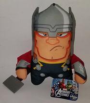 "Thor Avengers Assemble Marvel Plush 11"" Stuffed Animal Toy Holding Hammer - $14.80"
