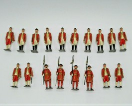 Britains Ltd Attendants to State 18 #1475 Lead Beefeaters Coronation VTG 1950s - $144.94