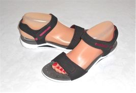 Flexible Gray Breathable Pavers Sport White Euro Women's Comfort Sandal 39 Black 5SwqOwX