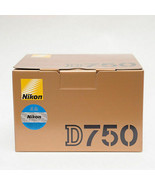 Nikon D750 24.3MP Digital DSLR Camera Body Only Without lens Genuine (NO... - $989.00