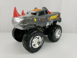 Road Rippers Rhino 4x4 Monster Truck Wheelie Moves, Lights & Sounds Moti... - $14.99