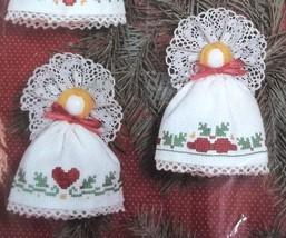 Choir of Angels Ornaments Janlynn Christmas Cross Stitch 50-272 Set of 6 - $18.80