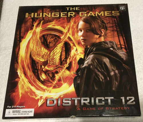 Neca Wizkids 2012 The Hunger Games District 12 Board Game Sealed Pieces - $42.05