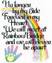 Let's Cross The Rainbow cross stitch chart Imaginating - $5.40