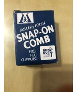 """Millers Forge 438 Snap-On Clipper Comb Size 4 3/16"""" Cut - £6.55 GBP"""
