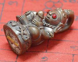 Thai Amulets Talisman PRA Ya Ngung Lueng Thong Pendants Kruba Subin Sumedaso - $68.88