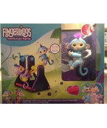 Fingerlings Playset See-Saw with 2 Fingerlings Baby Monkey Toys Willy & ... - $116.39
