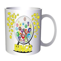Bingo Game Lottery Win Success Gift 11oz Mug e918 - $10.83