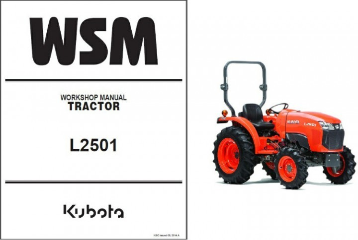 kubota l2501 tractor wsm service workshop and 50 similar items rh bonanza com kubota l3650 service manual kubota l3540 operators manual