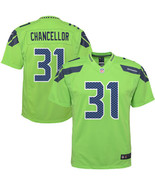 Youth Kam Chancellor Jersey #31 Seattle Seahawks Green Stitched Elite Jersey - $35.99