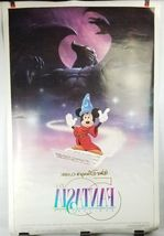 "Fantasia 50th Anniversary Double Sided Movie Poster 41""x27"" Original Rolled Ship image 10"
