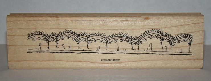 STAMPIN' UP! 1997 - Rubber Stamp