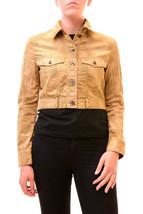 Diesel Women's Unique G-Ruine Long Sleeve Jacket Brown Size S RRP £240 B... - $221.62