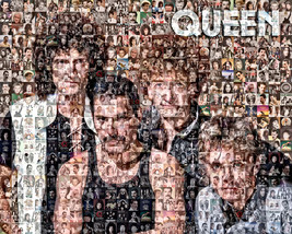 Queen Photo Mosaic Print Art - $24.99+