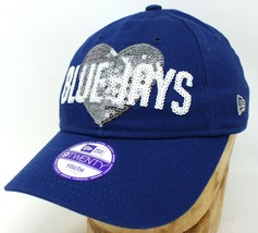 Youth Kids New Era 9twenty Toronto Blue Jays MLB Heart Sequined Baseball... - $11.61
