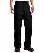 NEW Dickies Men's Loose Fit Double Knee Twill Work Pant, Black, 36W x 32... - $19.86